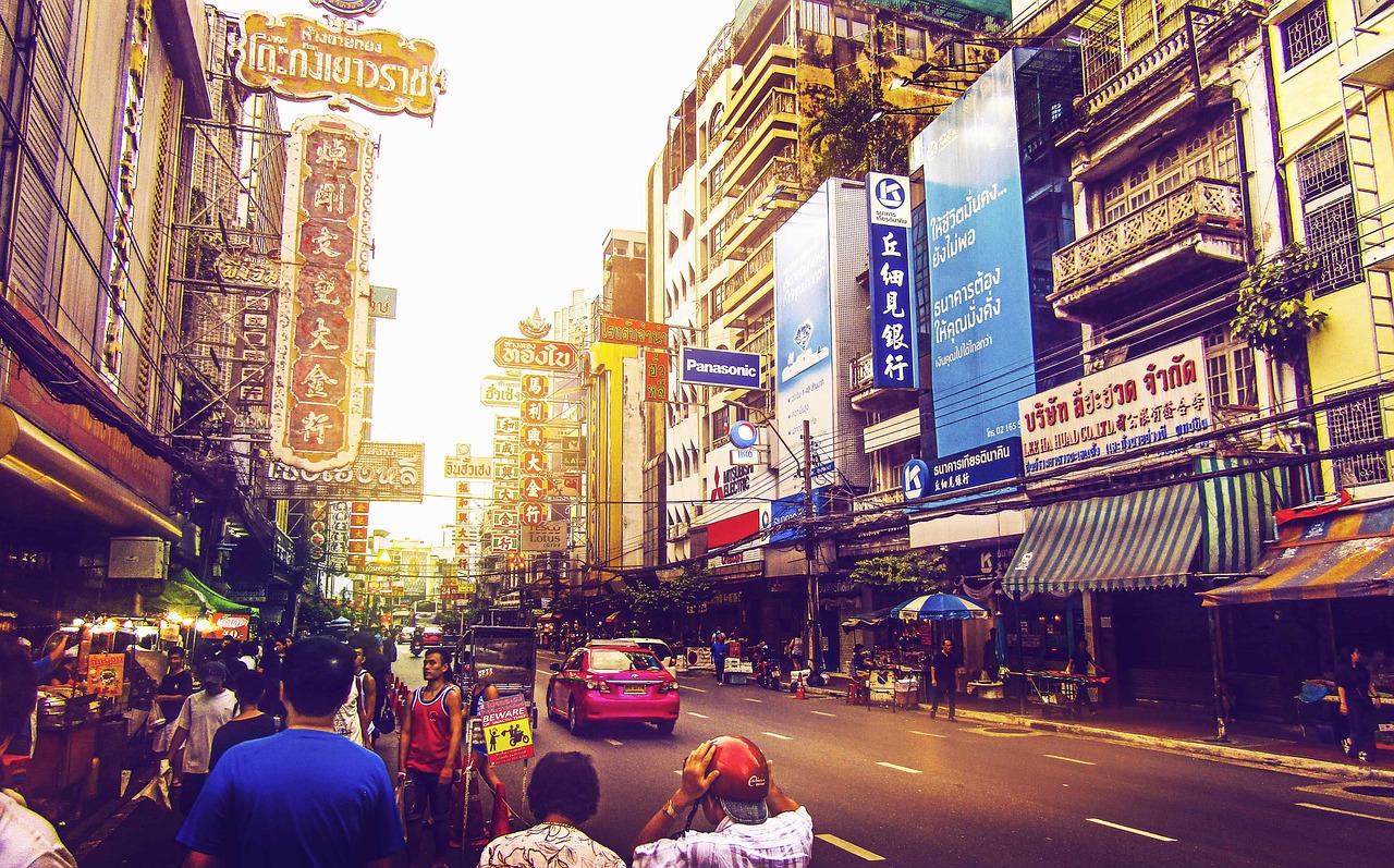 日本人がよく旅行に行く『タイ』って治安は良い?夜でも安全?