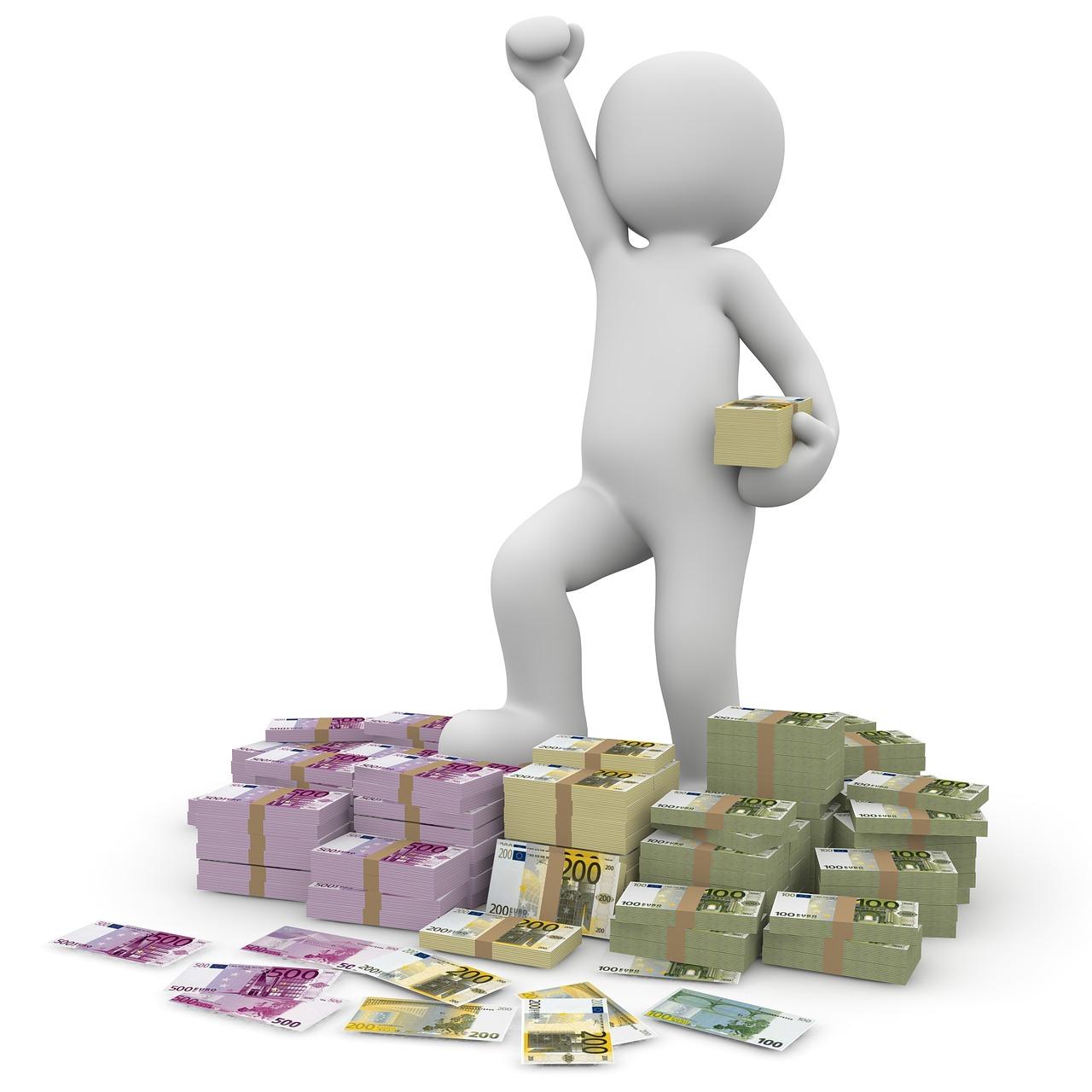 お金に執着する人の心理状態とは?お金ぎあると安心感が得られる
