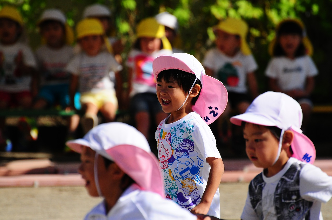 幼稚園運動会の競技がおもしろい!どんな種目が?タイトルも注目
